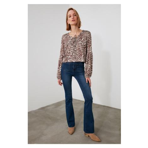 Trendyol Navy High Waist Jeans