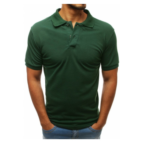 Men's green polo shirt PX0207 DStreet