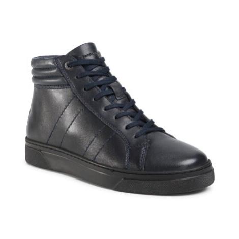 Šnurovacia obuv Sergio Bardi MI08-C652-653-11EO Prírodná koža(useň) - Lícova