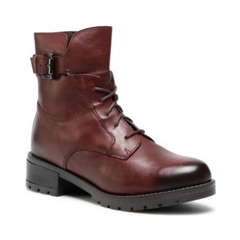Šnurovacia obuv Lasocki RST-ARTI-13 Prírodná koža(useň) - Lícova