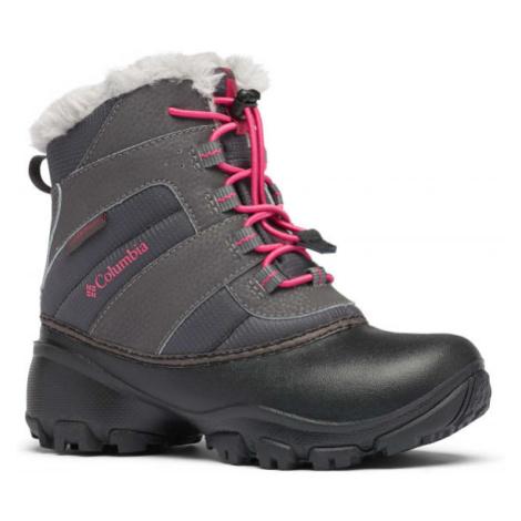 Columbia YOUTH ROPE TOW - Dievčenská zimná obuv