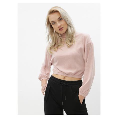 Tally WEiJL Lola Pink Short Light Sweater