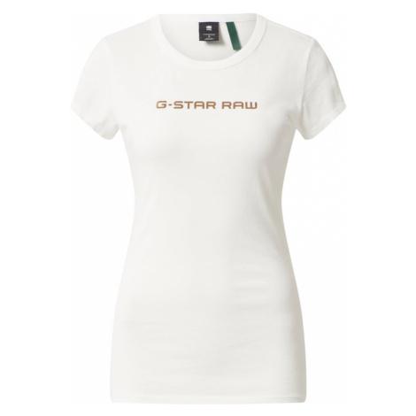 G-Star RAW Tričko  biela
