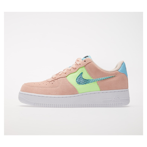 Nike Wmns Air Force 1 '07 SE Washed Coral/ Oracle Aqua-Ghost Green