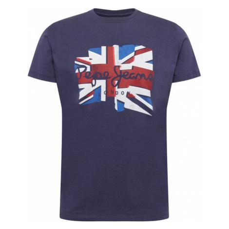 Pepe Jeans Tričko 'DONALD'  indigo / kráľovská modrá / červená / biela