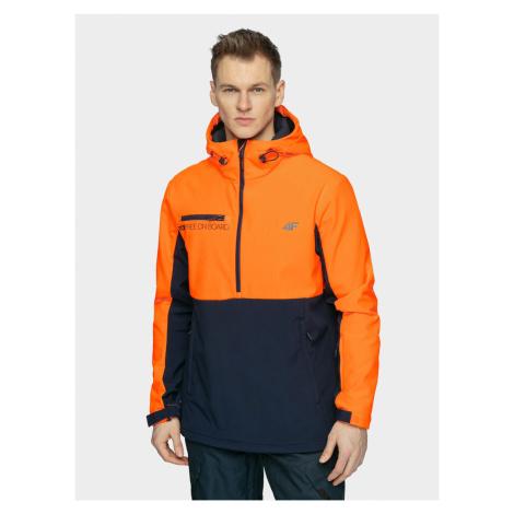 Pánska snowboardová softshellová bunda 4F