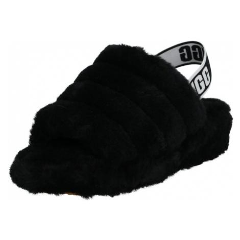 UGG Papuče 'FLUFF YEAH'  čierna