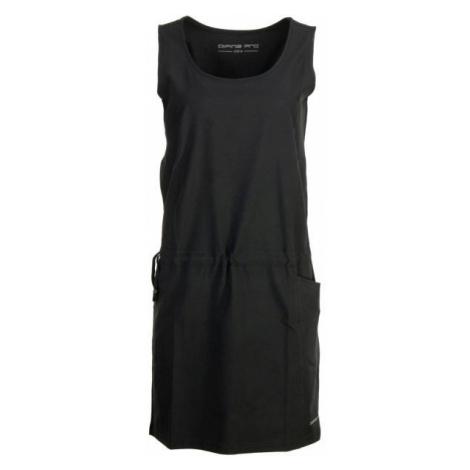 ALPINE PRO GADARA čierna - Dámske šaty