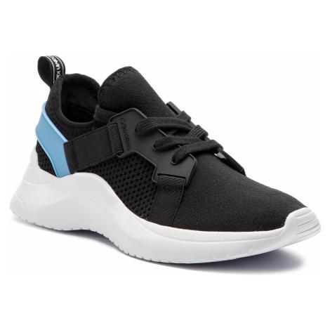 Sneakersy CALVIN KLEIN - Urbi E4485 Black/Dusty Blue