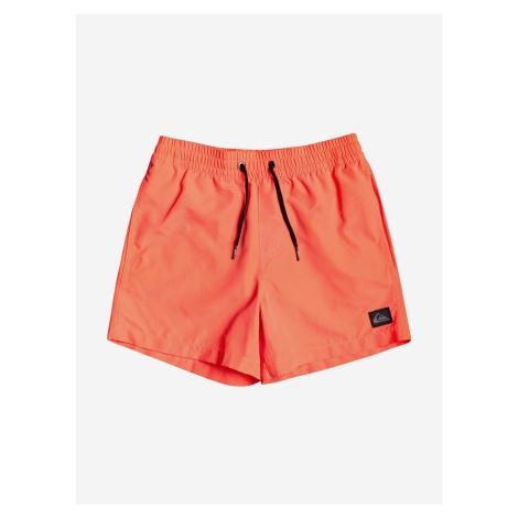 Plavky dětské Quiksilver Oranžová