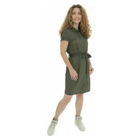 Bushman šaty Senyah dark green