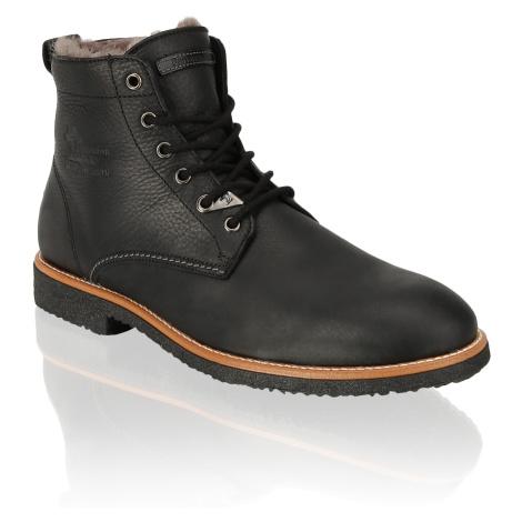 Panama Jack Glattleder Boot čierna