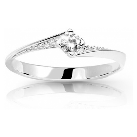 Cutie Jewellery Krásny zásnubný prsteň Z6710-2101-10-X-2 mm