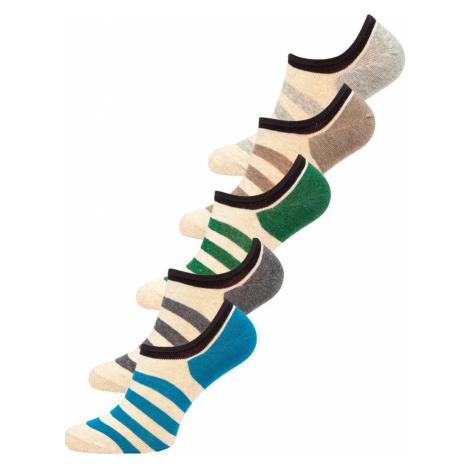 Farebné pánske ponožky Bolf  X10169-5P 5 PACK JUSTPLAY