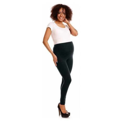 Tehotenské legíny Sheyla čierne PeeKaBoo