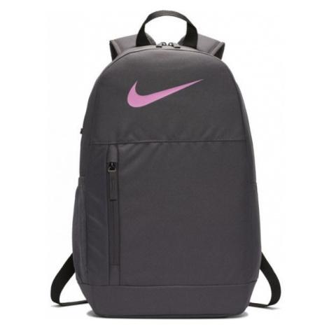 Nike Y ELEMENTAL BKPK - SWOOSH GFX sivá - Detský batoh