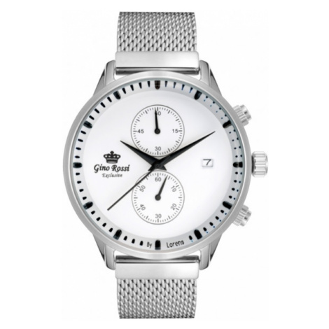 Pánske hodinky v elegantnom prevedení Gino Rossi E12463B-3C1