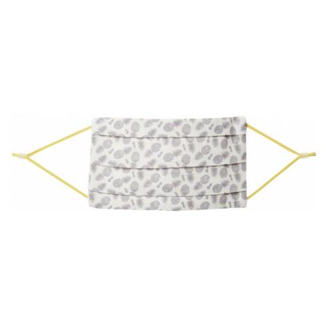CODELLO Látkové rúško 'Pineapple Small'  sivá / krémová