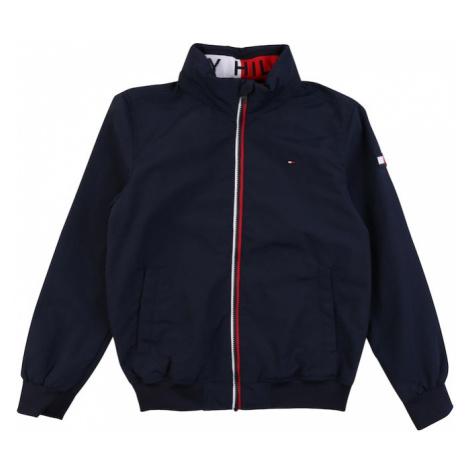 TOMMY HILFIGER Prechodná bunda 'Essential'  námornícka modrá / biela / červená