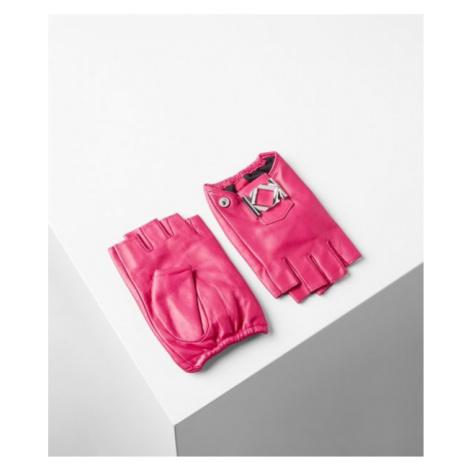 Rukavice Karl Lagerfeld Miss K Metal Glove