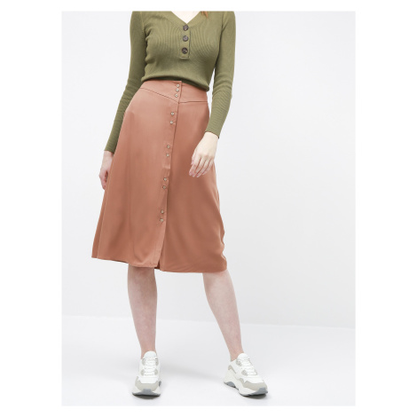 Hnedá sukňa VILA Morose