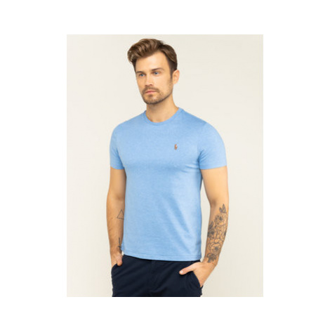 Polo Ralph Lauren Tričko 710740727 Modrá Slim Fit