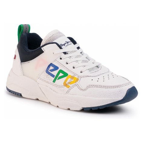 Sneakersy PEPE JEANS - David Archive PBS30439 White 800