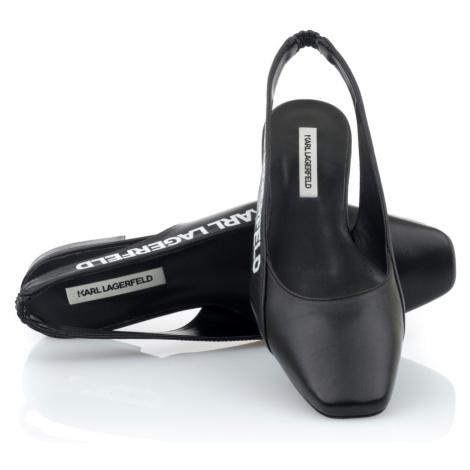 Sandále Karl Lagerfeld Klara Ii Karl Slingback Pump