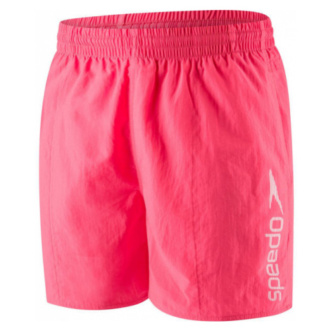 Speedo SCOPE 16 WATERSHORT červená - Pánske plavecké šortky