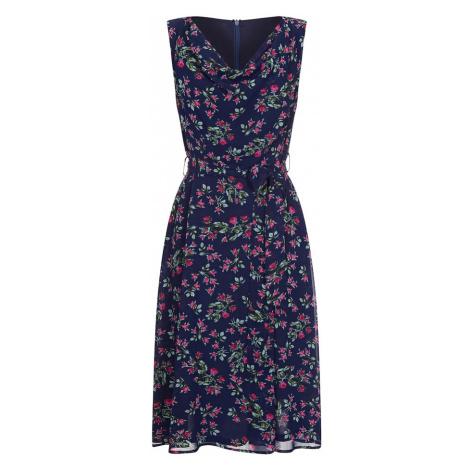 Mela London Letné šaty  tmavomodrá