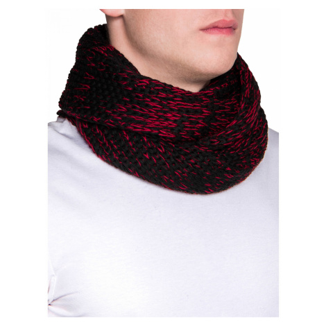 Inny Men's snood A099 Red Ombre
