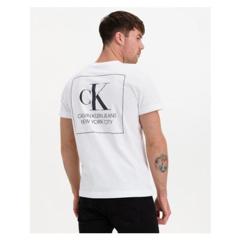 Calvin Klein Urban Iridescent Graphic Tričko Biela