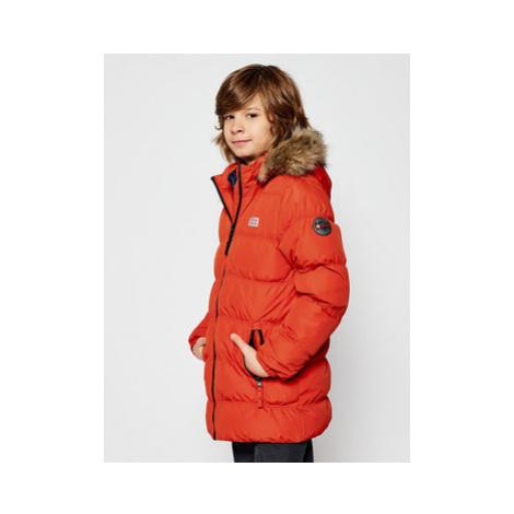 LEGO Wear Zimná bunda LwJoodie 706 22894 Oranžová Regular Fit