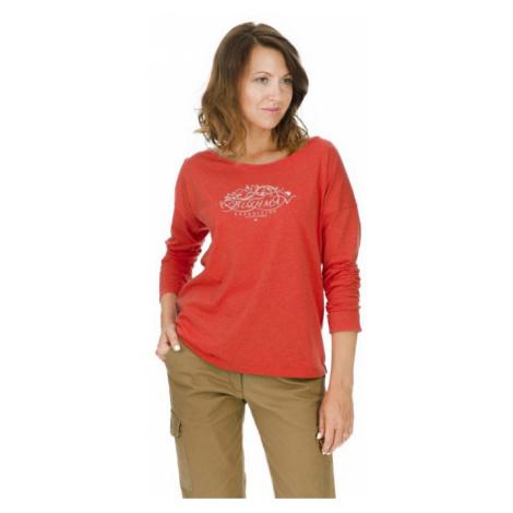 Bushman tričko Magnolia red