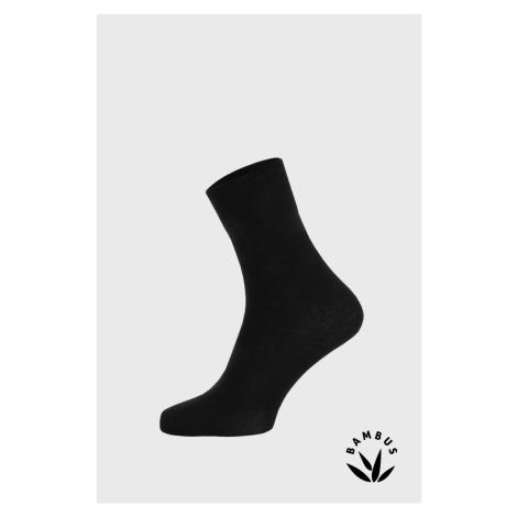 Bambusové ponožky Badon ČIERNA