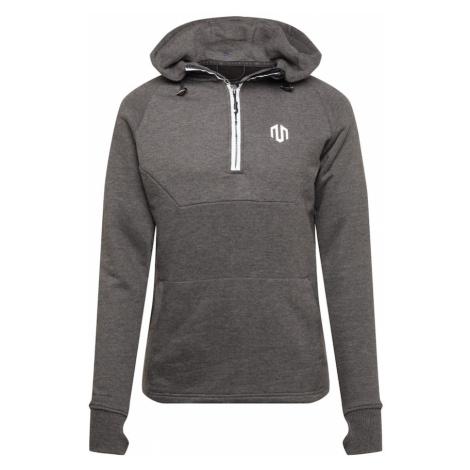 MOROTAI Športový sveter ' Neotech Zip Hoodie '  sivá