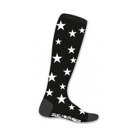 Ponožky Sensor Thermosnow Stars čierne 16200158