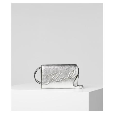 Bum Bag Karl Lagerfeld K/Signature Metallic Belt-Bag