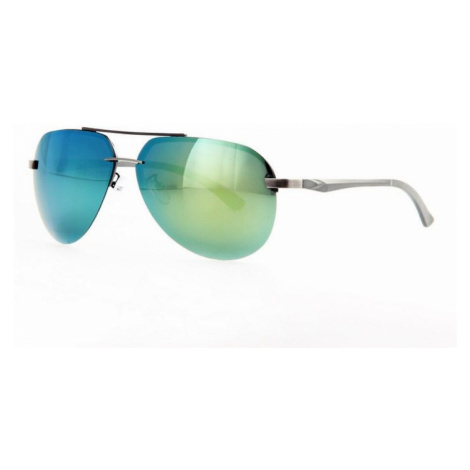 Polarizačné slnečné okuliare AVIATOR Pilotky - strieborný rá