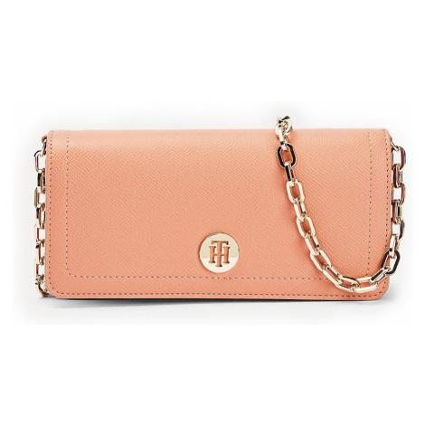 Tommy Hilfiger malá púdrová kabelka Honey Mini Crossover Clay Pink
