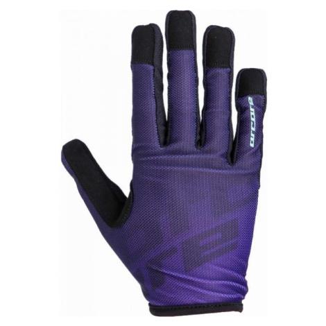 Arcore GECKO fialová - Cyklistické rukavice