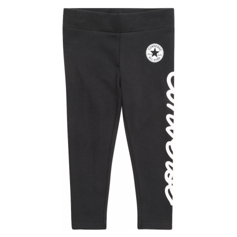 CONVERSE Nohavice  čierna / biela