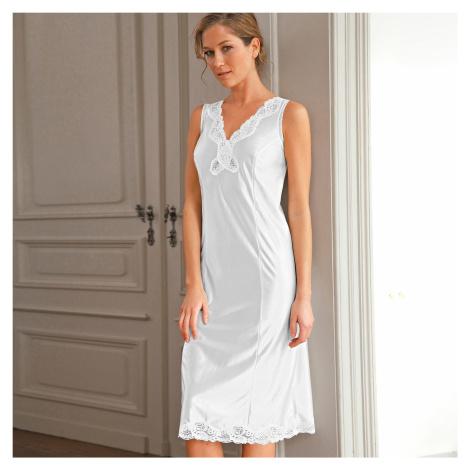 Blancheporte Antistatická spodnička, 2 dĺžky na výber biela