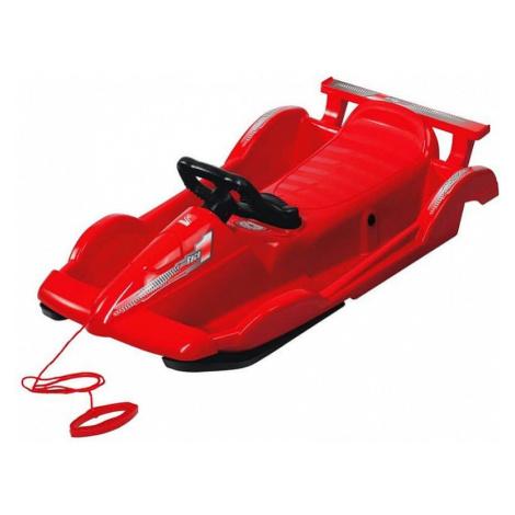 Bob plastový AlpenRace s volantem, červený AlpenGaudi