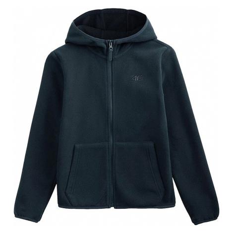 Fleecová bunda pre chlapcov 4F