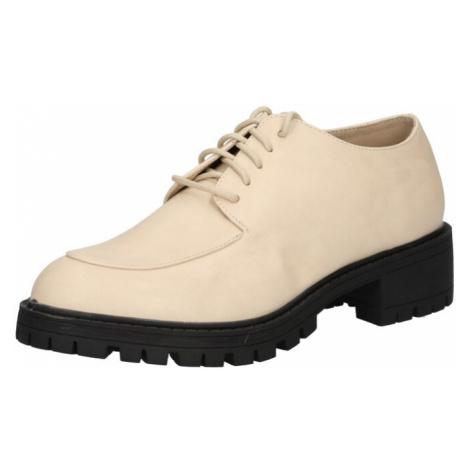 4th & Reckless Šnurovacie topánky 'ALEX'  krémová