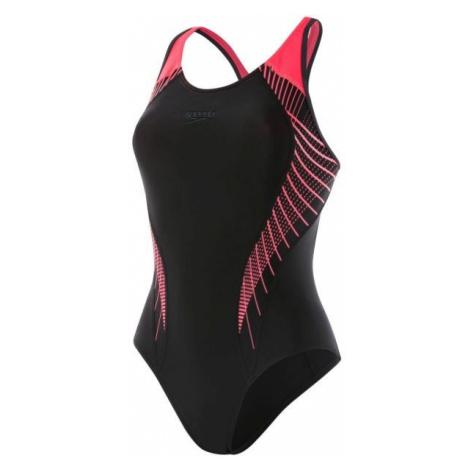 Speedo FIT LANEBACK čierna - Dámske plavky