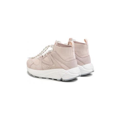 Hugo Sneakersy Horizon 50428269 10226109 01 Ružová Hugo Boss