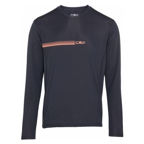CMP Funkčné tričko  antracitová / lososová