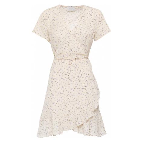 Neo Noir Letné šaty 'Malta'  krémová / fialová / zelená